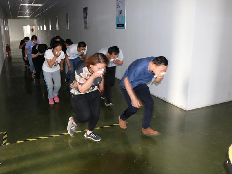 2019年6月凌工科技消防演练