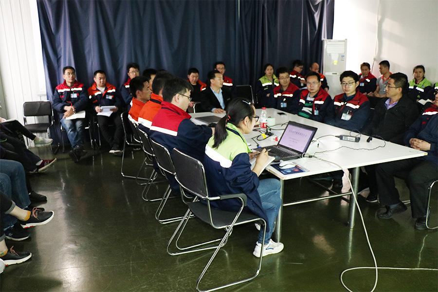 2019年5月凌工科技生产安全培训