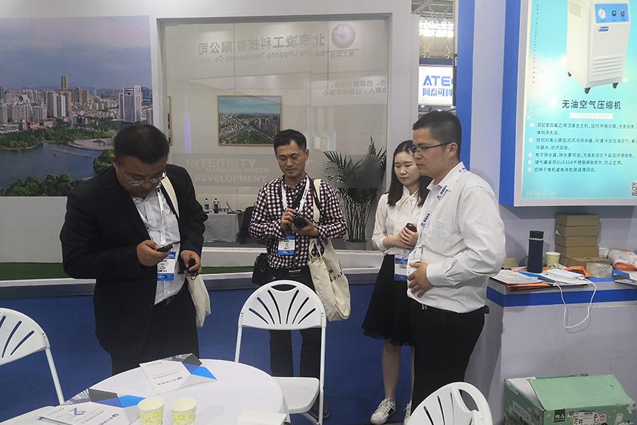 2019年5月凌工科技参加第六届武汉国际汽车技术展览会