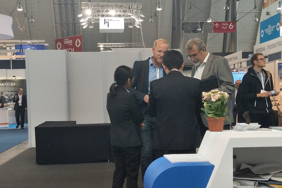 2019年5月凌工科技参加德国斯图加特展会