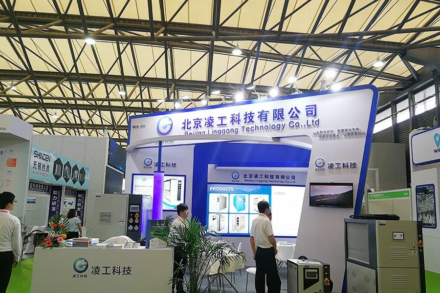 2019年7月凌工科技参加第13届上海国际节能与新能源汽车产业博览会