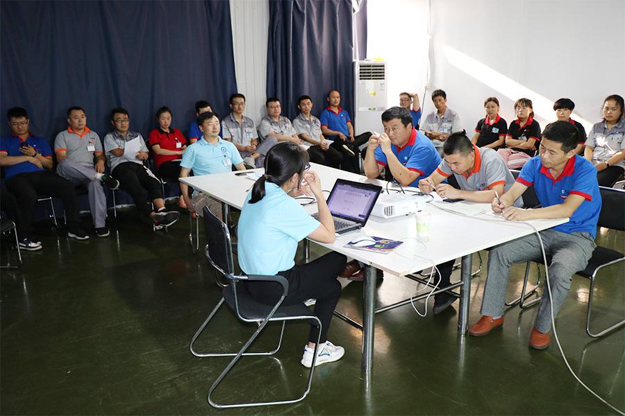 2019年7月凌工科技进行安全生产培训