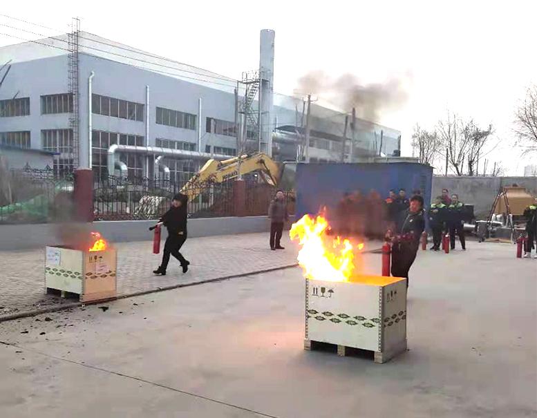 2019年3月凌工科技消防演练