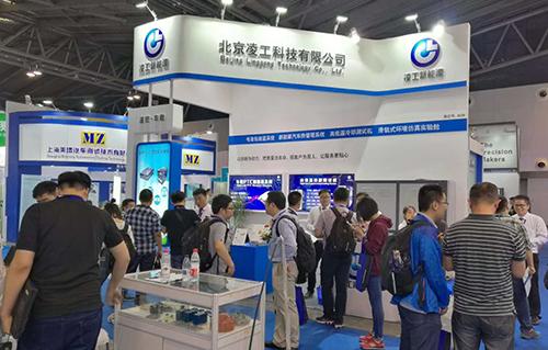 2017年9月凌工科技参加上海新能源测试设备展
